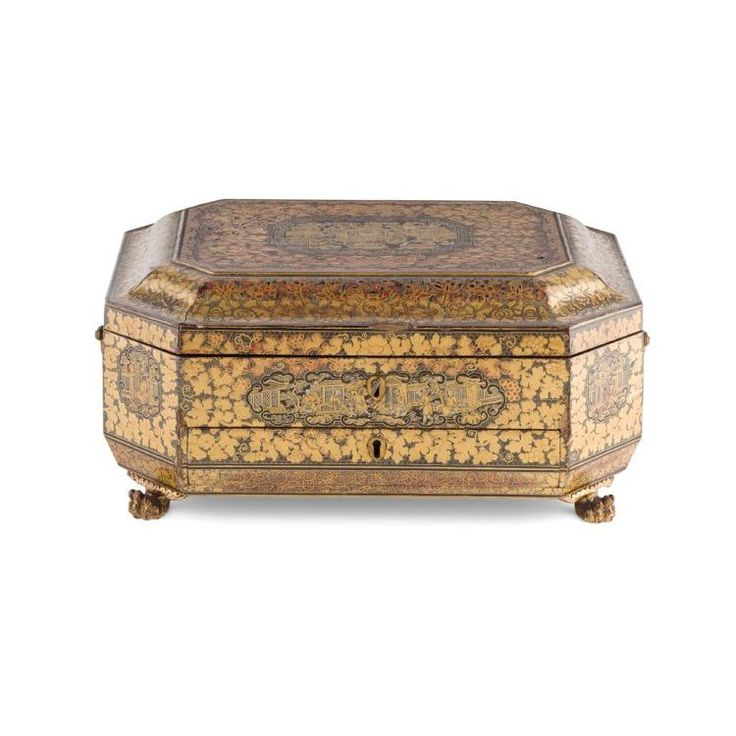 Buy online, view images and see past prices for Y CANTON GILT AND LACQUERED GAMES BOX AND HINGED COVER QING DYNASTY, 19TH CENTURY 36.5cm long. Invaluable is the world's largest marketplace for art, antiques, and collectibles.