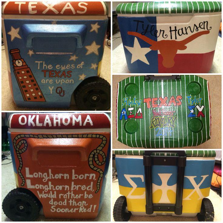 Texas/OU weekend cooler