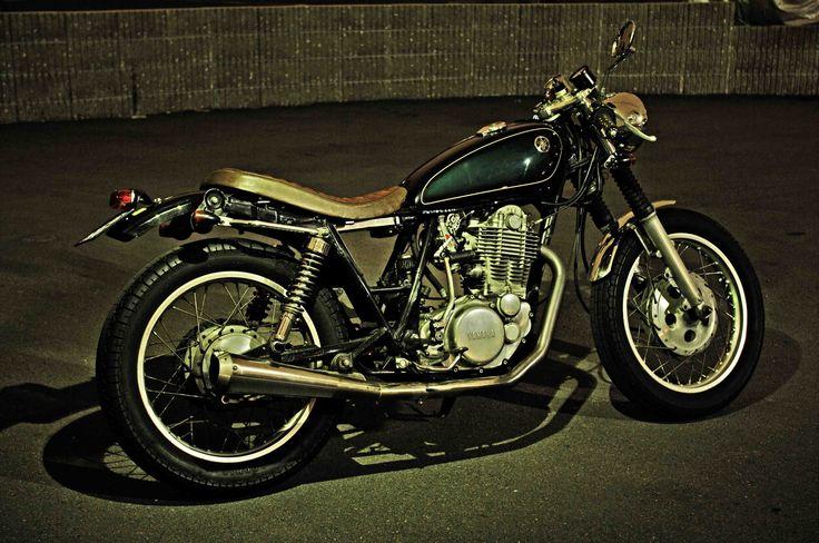 classy yamaha sr400 cafe racer | motorcycles | pinterest | sr400