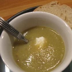 Potage de poireaux facile au blender @ http://allrecipes.fr