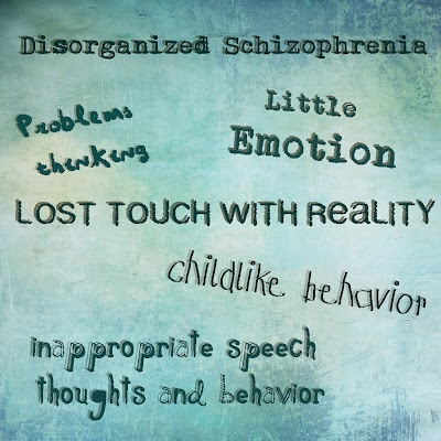 a history of schizophrenia in mental disorders Get the facts on common mental disorders, such as those related to anxiety, attention deficit, conduct, depression, schizophrenia, and trauma  a family history of .