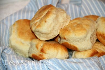 Baking Mix Yeast Biscuits - Bride's Biscuits, with a modern shortcut!