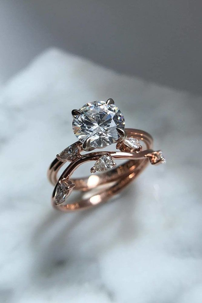 24 Unique Engagement Rings That Wow ❤️ See more: http://www.weddingforward.com/unique-engagement-rings/ #wedding
