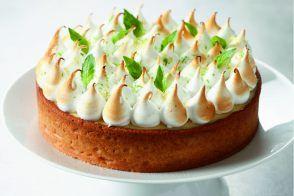 Tarte citron/basilic par l'école de cuisine Alain Ducasse