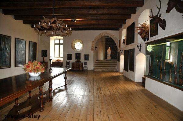 Interiors Of Castles Kost Castle Czech Republic