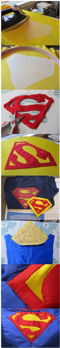 Crafters In Disguise: Costume Progress - Superman Logo