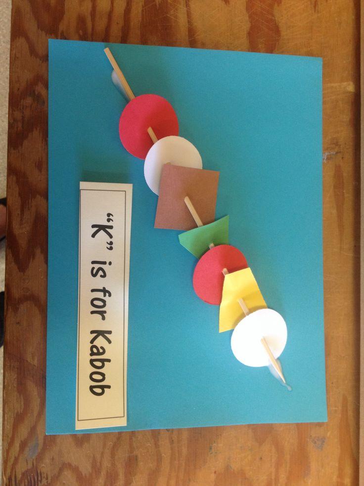 65 best letter k images on pinterest alphabet crafts for Letter k crafts for toddlers