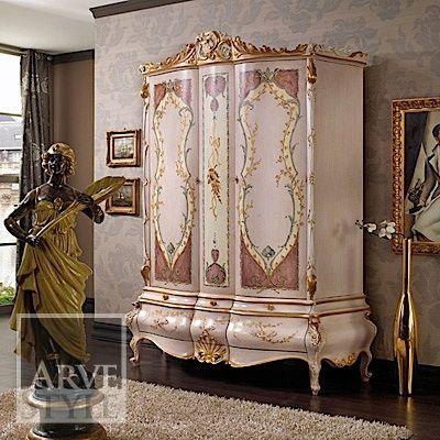 armadio baroque stile veneziano