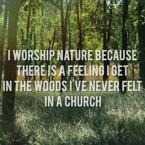 Nature is my church ☁️ | Witch craft | Wicca, Pantheism, Wiccan witch