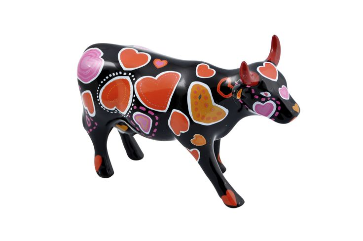 #CowParade - Cow-Ween of hearts
