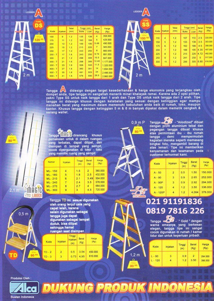 TANGGA = ladder