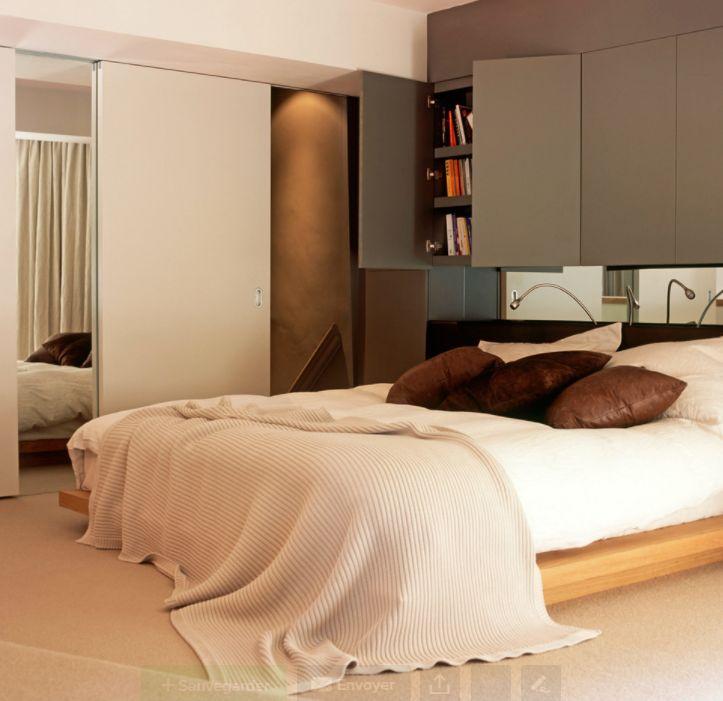 rangement au dessus du lit amazing bureau avec rangement au dessus idaces de rangements. Black Bedroom Furniture Sets. Home Design Ideas
