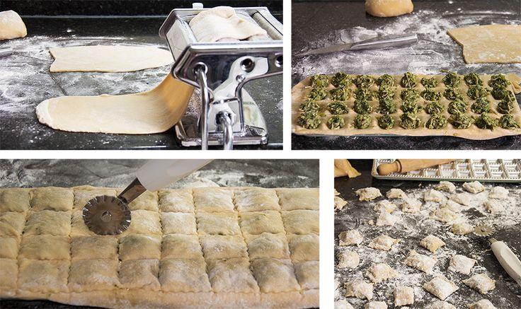 Ravioles (raviolis) artesanos PASO A PASO | La Cocina de Frabisa