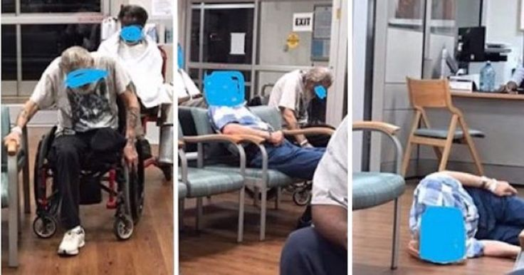 OUTRAGE! Elderly Veteran Left Lying On Floor Of VA Hospital Unattended While Nurse Screamed At Him [PHOTOS]  Posted by Bob Amoroso