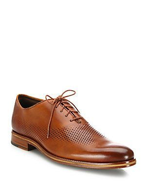 Cole Haan Washington Grand Leather Lace-Up Shoes