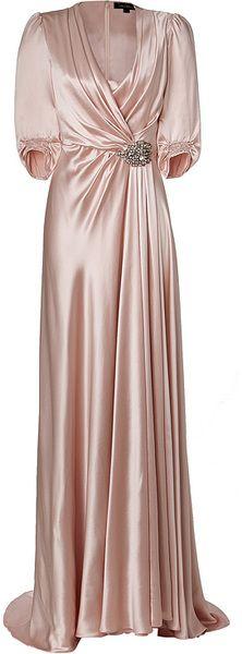 17  ideas about Silk Gown on Pinterest - Fancy dress- Elegant ...