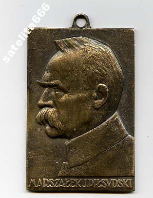 Plakieta Marszałek Piłsudski