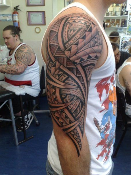 See more Information on Samoan Tribal Tattoos.