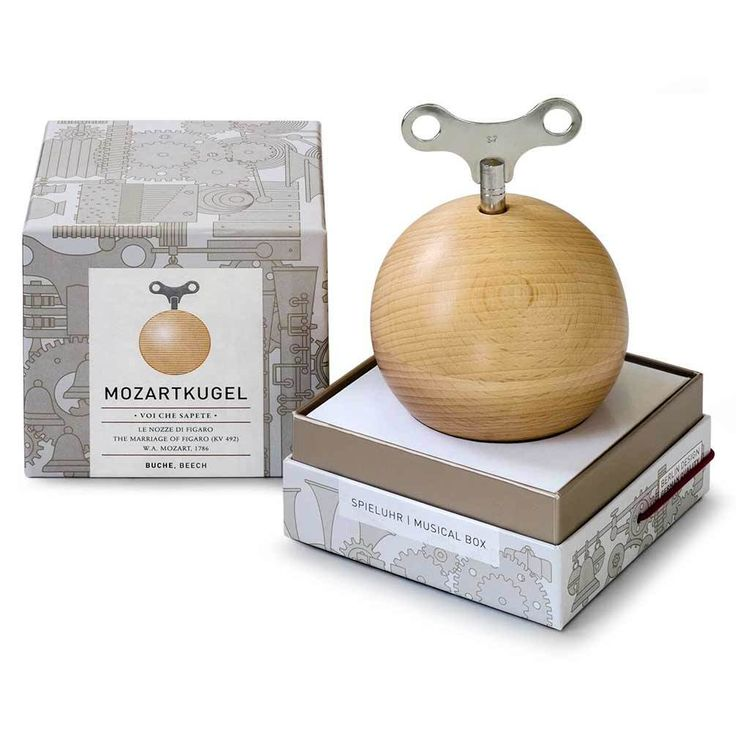 The Design Gift Shop - SIEBENSACHEN | Mozartkugel Music Box | Beech, AUD 119.00 (https://www.thedesigngiftshop.com/siebensachen-mozartkugel-music-box-beech/)