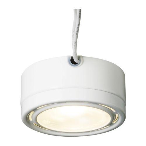 to install under cabinet lighting! GRUNDTAL Spotlight  white  IKEA