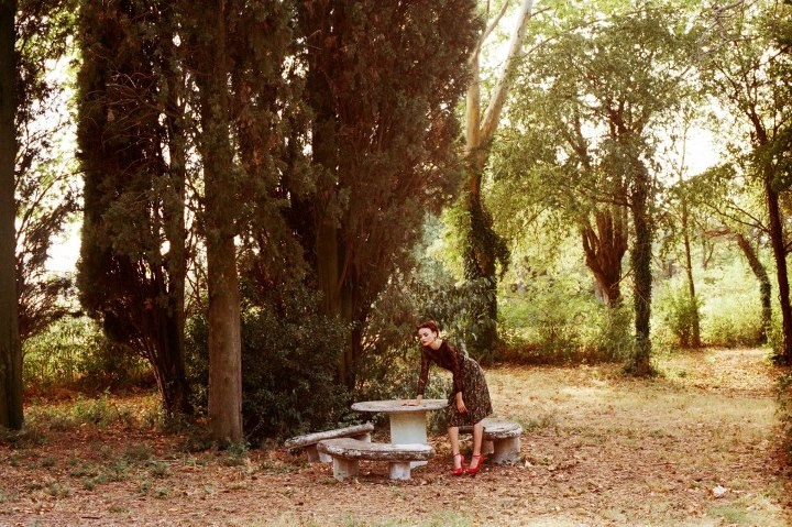 Deborah Parcesepe on a film by Silvia Bordin #fashion #model #story #portfolio