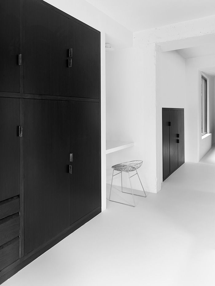 April and May| Minimal black and white home