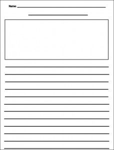 blank writing sheets for second graders 1000 ideas about