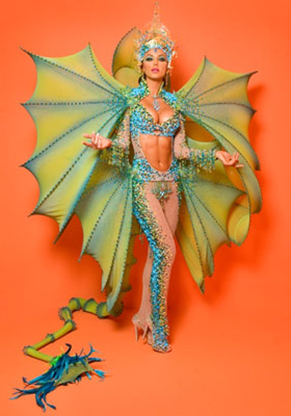 "great idea for the ""wings"" for dragon costume. i can do without the sluttiness though..."
