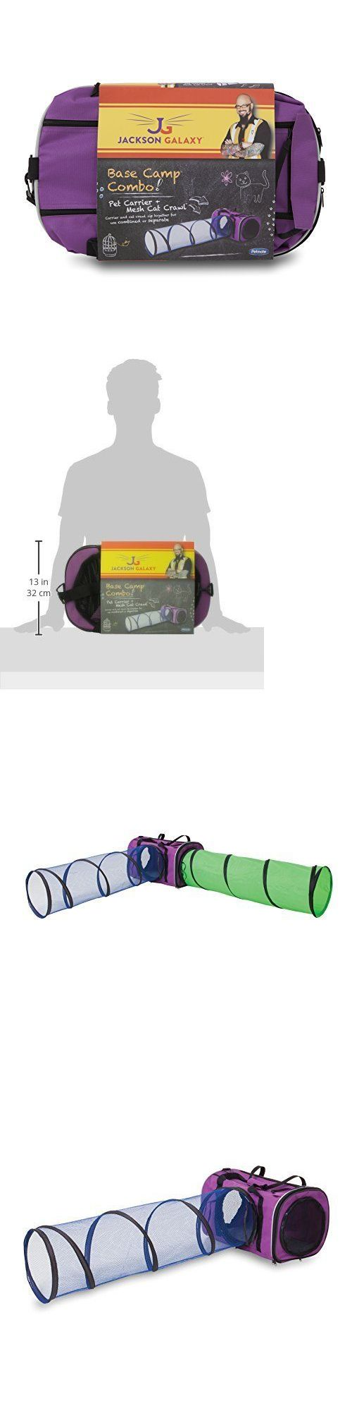Toys 20741: Petmate Jackson Galaxy Base Camp Carrier With Mesh Tunnel, New -> BUY IT NOW ONLY: $56.29 on eBay!
