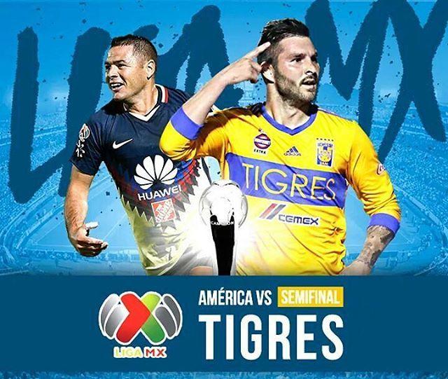 Descubre donde ver el partido de Ida América vs Tigres en Vivo Semifinal 2017 Online. Cuando, en que canal y a qué hora juega el América por Internet.