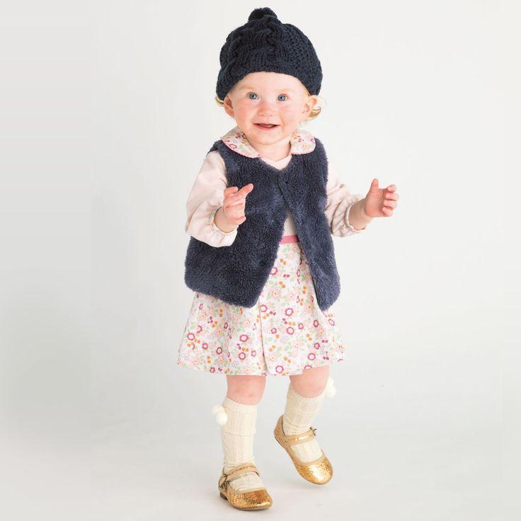 Dylann for Combi Mini FW 2017 ラップワンピース(フォールフローラル): ベビーアイテム ベビー服・ベビー布団・出産準備はコンビミニの通販