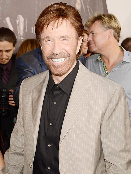 "Chuck Norris (Republican)  Chuck Norris really, really doesn't want Obama to get re-elected.The actor and his wife Gena took to his official YouTube channel in early September to warn Americans about the consequences of a second term for POTUS. ""You and I have a rendezvous with destiny,"" Gena shared, quoting Ronald Reagan. ""We will preserve for our children this last best hope of man on earth, or we will sentence them to take the first step into 1,000 years of darkness."""