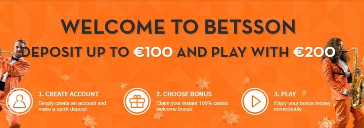 Welcome to betsson deposit up to €100 and play with €200.  http://www.slot-machines-paradise.com/news/welcome-to-betsson-deposit-up-to-e100-and-play-with-e200  #betsson #slotmachinesparadise #bonus