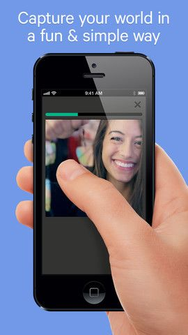 Create short, beautiful, looping videos in a simple and fun way for family & friends
