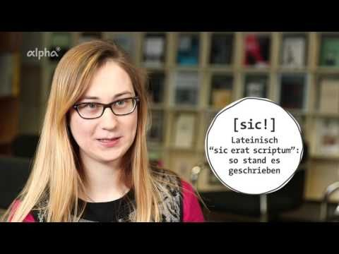 Tutorial: Richtig Zitieren! - ARD-alpha - YouTube
