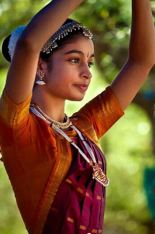 South indian dancer