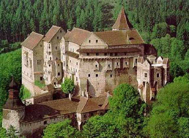 Pernstejn castle, Czech Republic