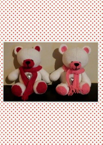 FF friends bears. Patroon *My Krissie Dolls*