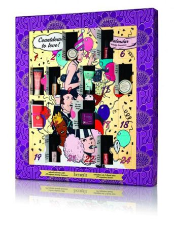 The exclusive Benefit Cosmetics Countdown to Love Advent Calendar goes on sale this weekend - get it while you can!
