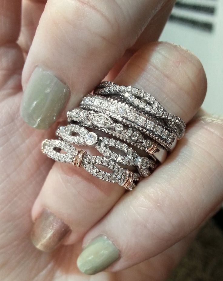 Verragio wedding bands. LOVE!