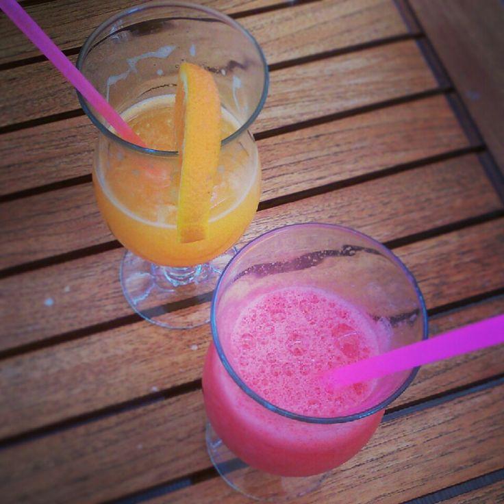 Cocktails at Candia Village Beach #summerholidays
