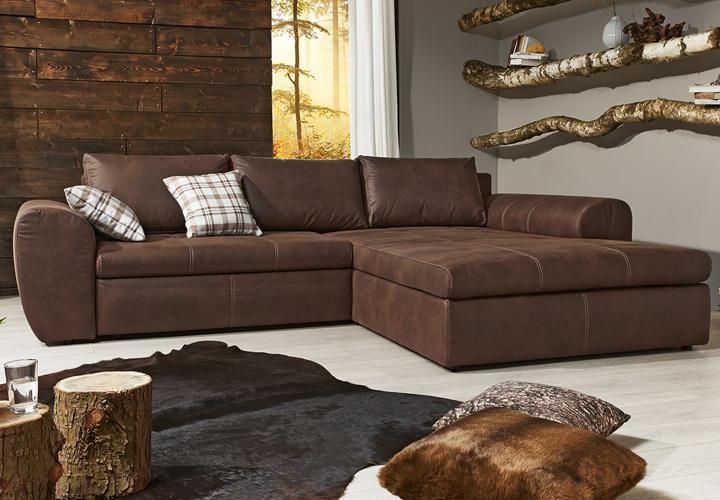 Die besten 25 braunes sofa ideen auf pinterest sofa braun braune couch dekoration und - Braunes ecksofa ...