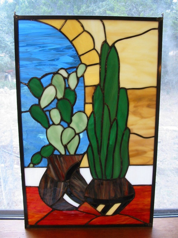 24 Best Images About Southwestern Stained Glass On