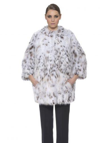 Manzari Lynx Fur Coat Full Belly Long Hair   #classy #elegant #luxury #fur #coat #lynx #bobcat #white #chic #fullbelly #design #dress #style #fashion #mexa