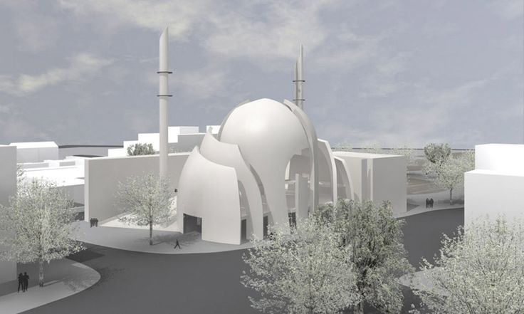 Kölner Zentral Moschee in Germany | Beautiful Mosques Gallery around the world