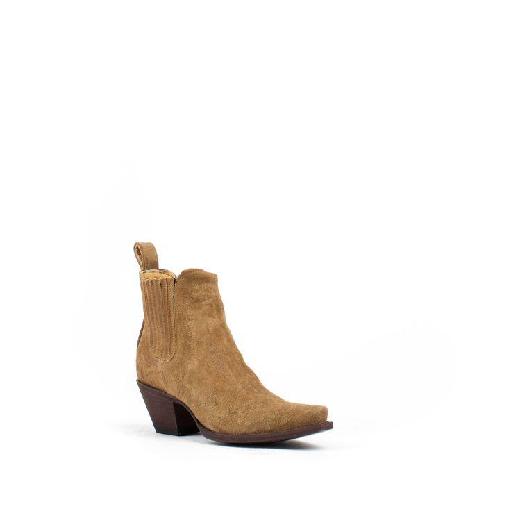 Women's Yippee Ki Yay by Old Gringo Ferreira Suede Tan Boots #YBL2928-2