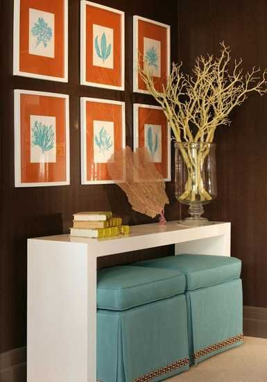 22 Modern Interior Design Ideas Blending Brown and Orange Colors into Beautiful Rooms