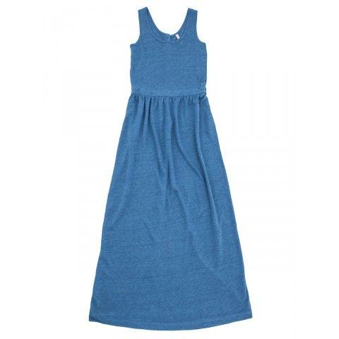 Sky blue long dress SUN68 Woman SS15 #SUN68 #SS15 #woman #dress