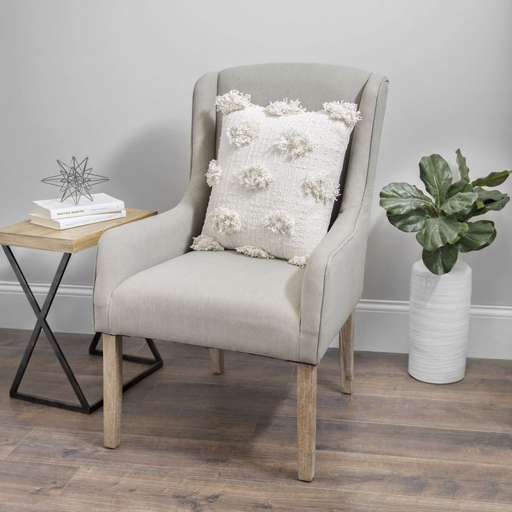 Sit down, settle in, and curl up with a good book in this cozy chair. With the right touches (and a good pillow or two), you can turn any corner into a relaxation station.