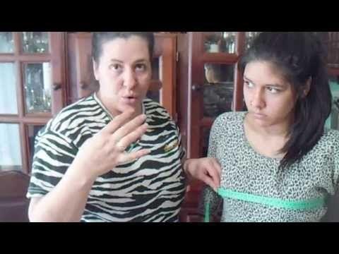 "✂ Blusa cola de pato "" Peticion"" - YouTube"
